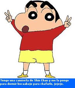 Personajes para darles una paliza: Shin Chan en español